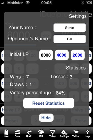 Screenshot iDuelpro