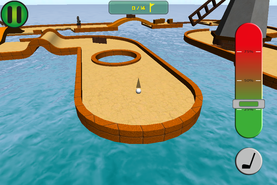 Screenshot Family Golf 3D