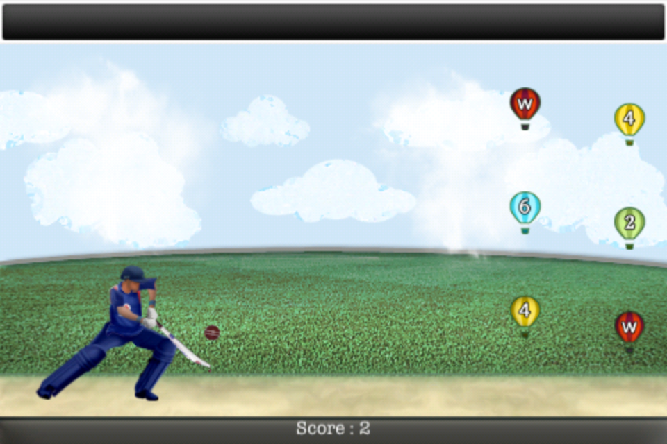 Screenshot Swing Cricket